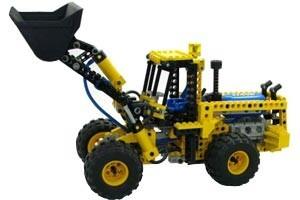 ... Lego 8464 Schaufelradlader ...